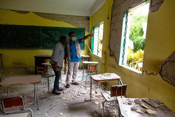 아이티 어린이의 중단 없는 교육을 위해